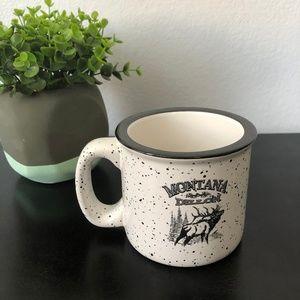 Other - NEW Heavy Black White Dillon Montana Mug Cup